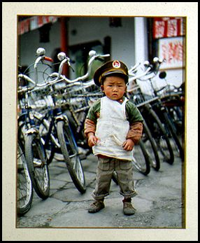 Boy Soldier, China, Photo by Dennis Kohn